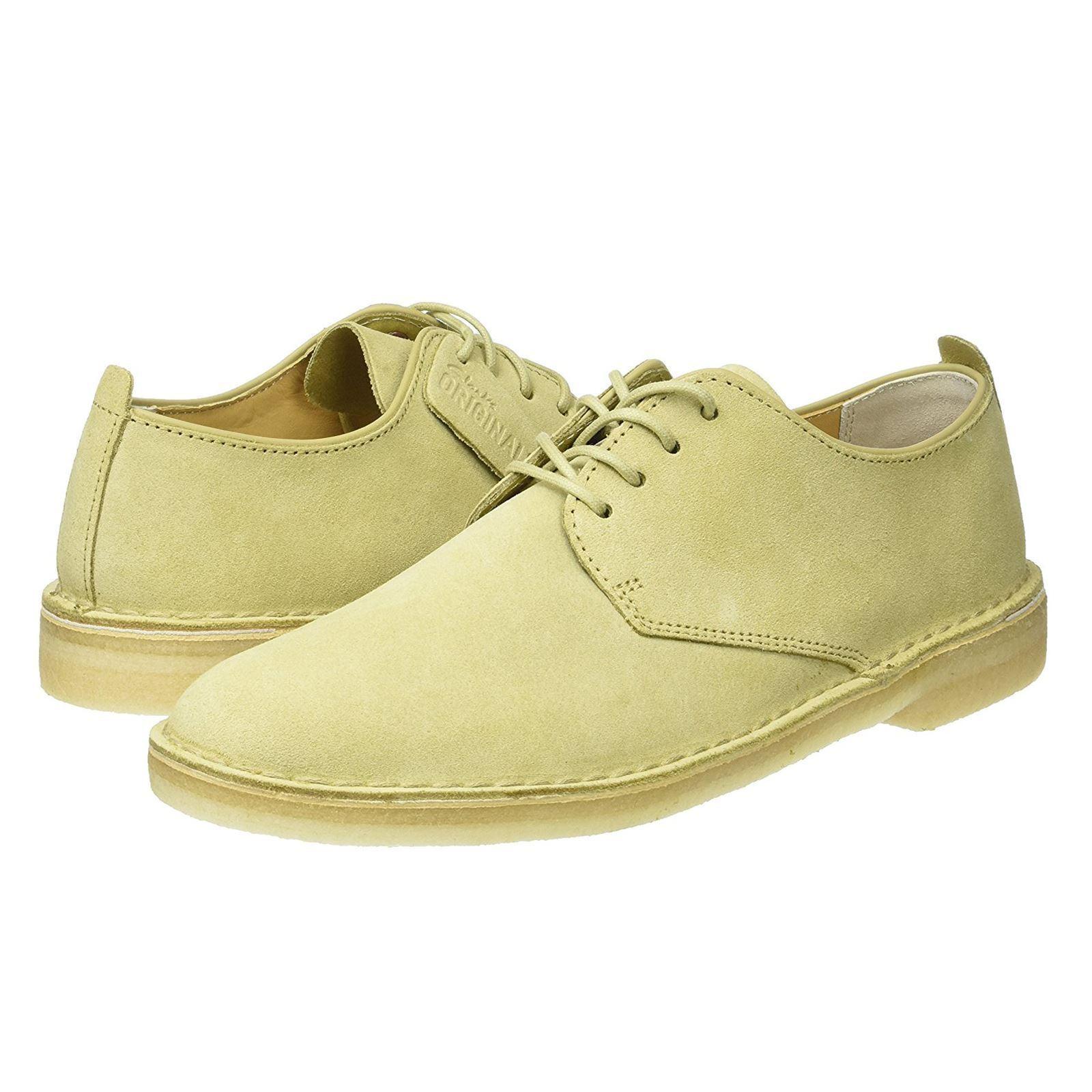 Clarks Originals Da Uomo Desert London Maple Suede Shoes 8,9,10,11