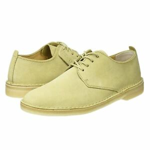 desert london clarks originals lace up mens  shoe maple suede
