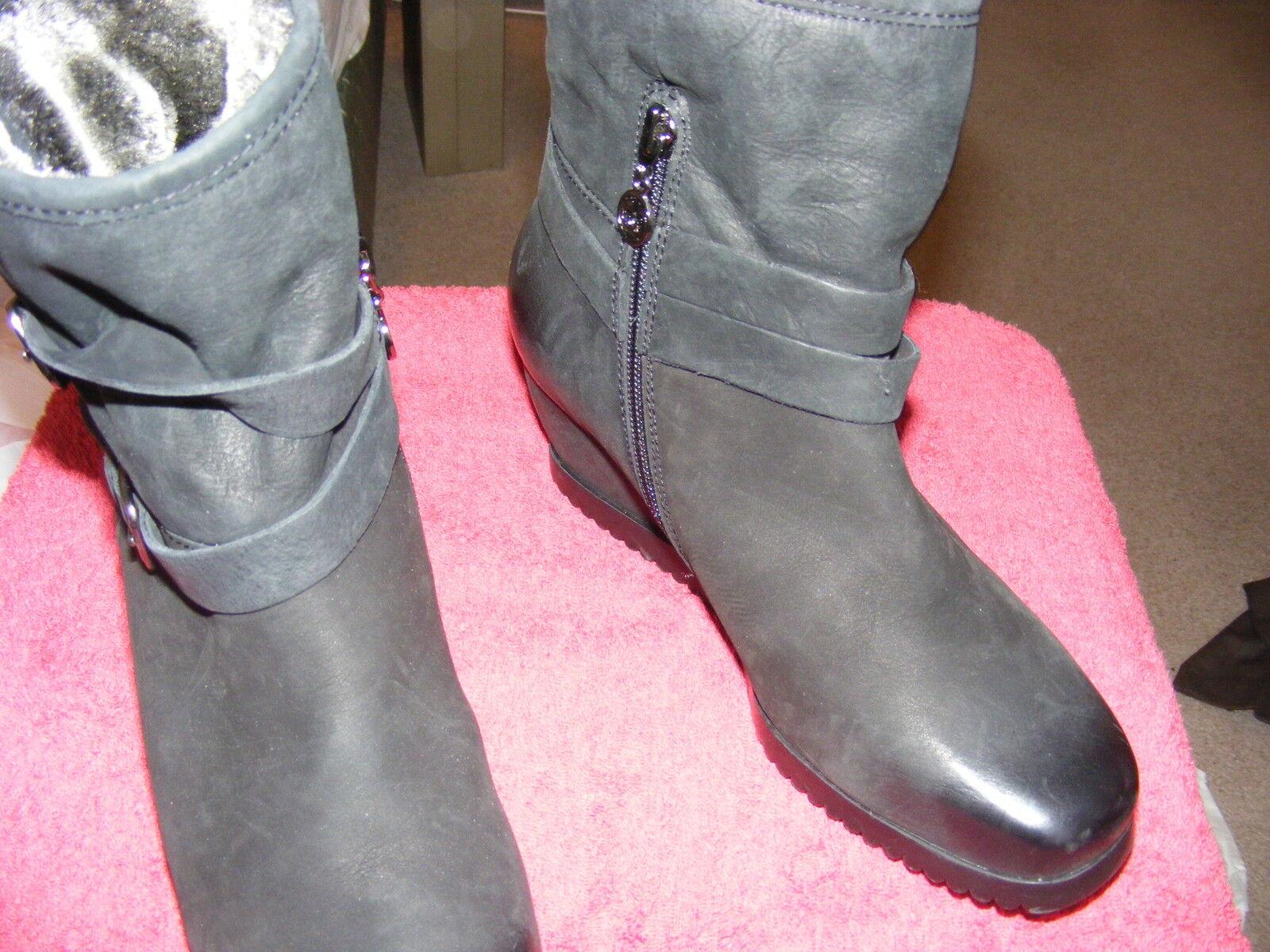 Gerry botas Weber negras botas Gerry stifeletten stifeletten botas negro nuevo 62db88