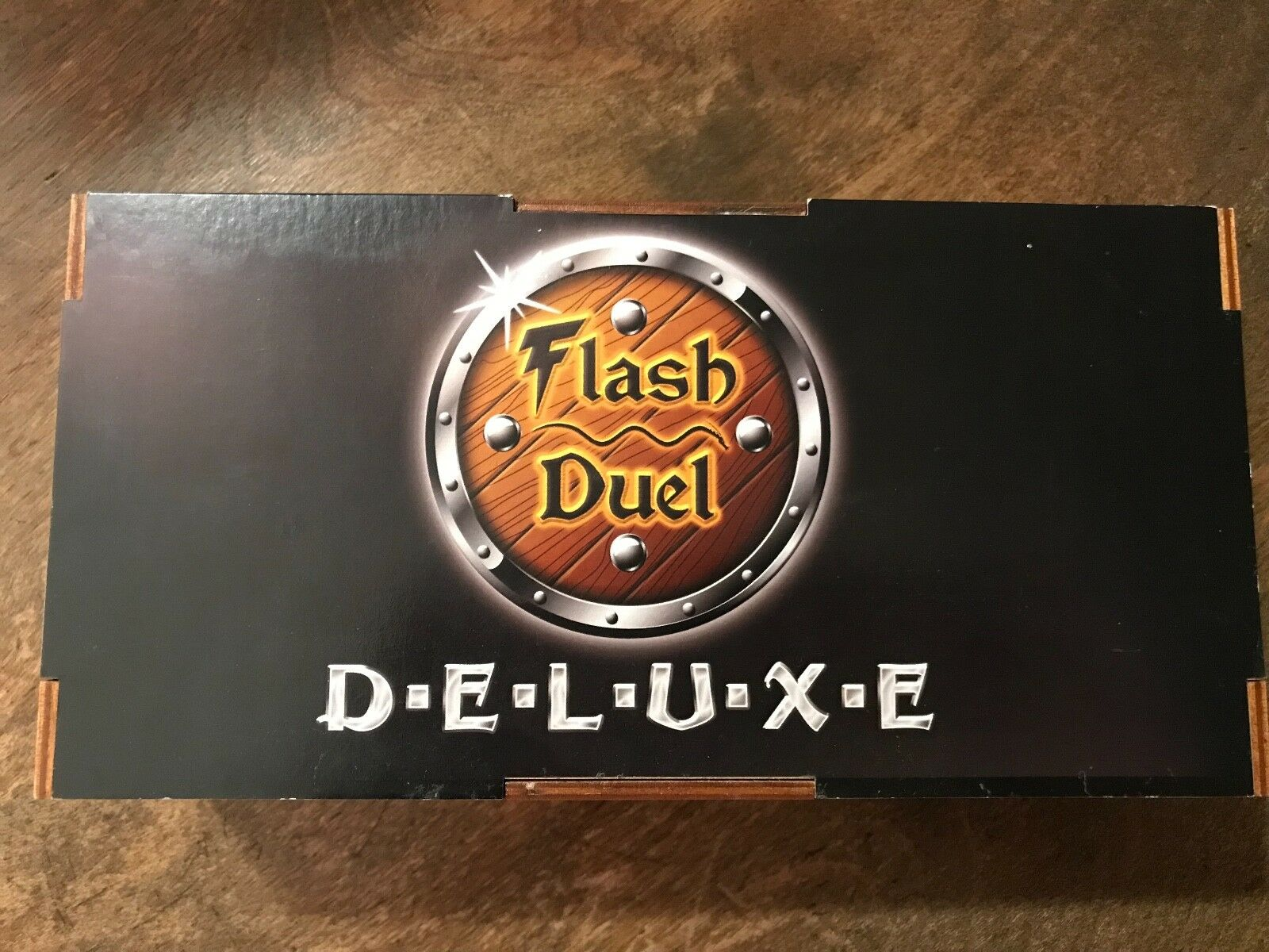 Flash Duel Deluxe Edition Board Game Wooden Box Sirlin Games OOP