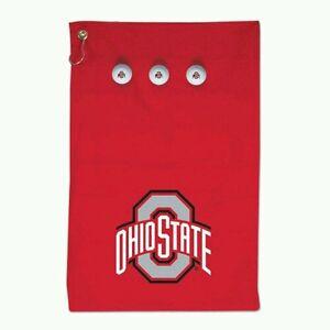 Ohio State Buckeyes Logo Velour Beach Towel