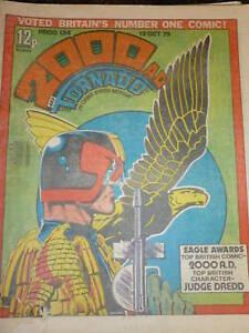 2000-AD-amp-TORNADO-Comic-PROG-No-134-Date-13-10-1979-UK-Paper-Comic
