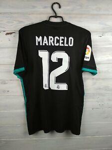 Marcelo-Real-Madrid-jersey-Medium-2018-away-shirt-BR3543-soccer-football-Adidas