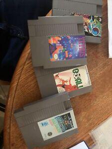 Tetris Nintendo And Other Nes Authentic Original Nintendo Games Rad Racer/ Goal!