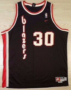 cheap for discount 018b7 35b59 Details about **AUTHENTIC** Nike Throwback Portland Trail Blazers 77  Wallace Jersey Sz XXL EUC