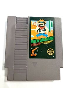 Wild Gunman RARE Original Nintendo NES Game Tested + Working & Authentic!