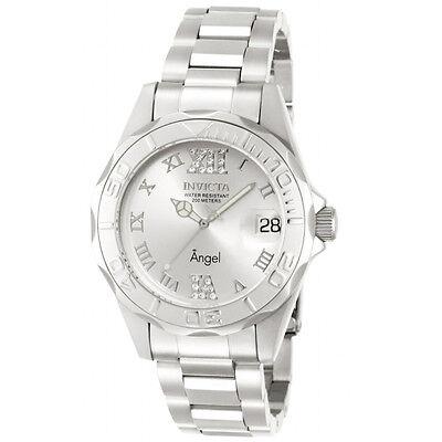 Invicta 14396 Women's Silver Tone Dial Steel Bracelet Dive Watch