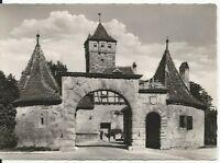 Ansichtskarte Rothenburg ob der Tauber - Rödertor - schwarz/weiß