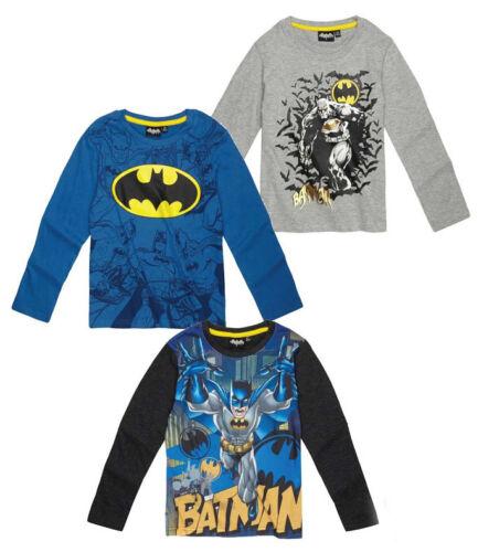 104-140 T-Shirt  Pullover Shirt  neu! Batman  Kinder Jungen Langarmshirt Gr