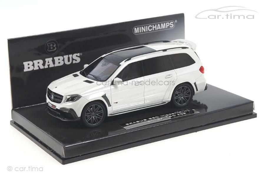 Brabus 850 WideStern XL Basis Mercedes-AMG GLS 63 weiß met. - Minichamps 1 43 437