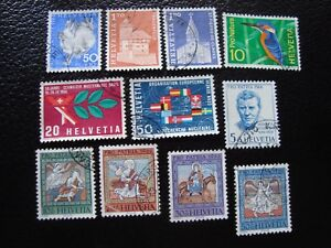 Switzerland-Stamp-Yvert-and-Tellier-N-763-A-773-Obl-A2-Stamp-Switzerland-A