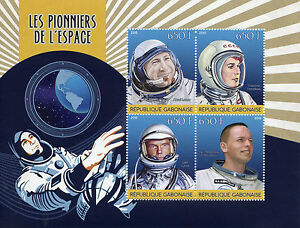 Gabon-2015-MNH-Pioneers-of-Space-4v-M-S-Leonov-Armstrong-Terechkova-Stamps