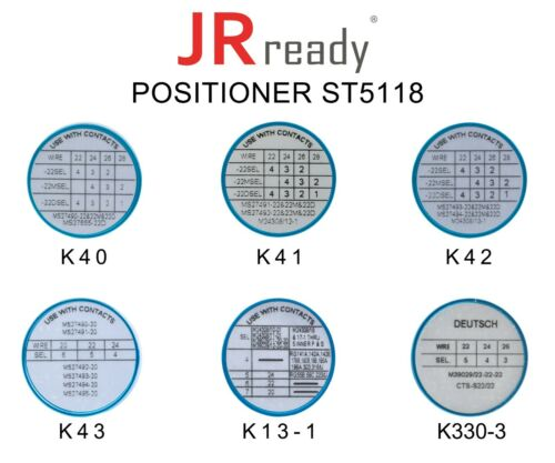 K40+K41+K42+K43+K13-1+K330-3 for AFM8 Crimper JRready M22520//2 01 Positioner Kit