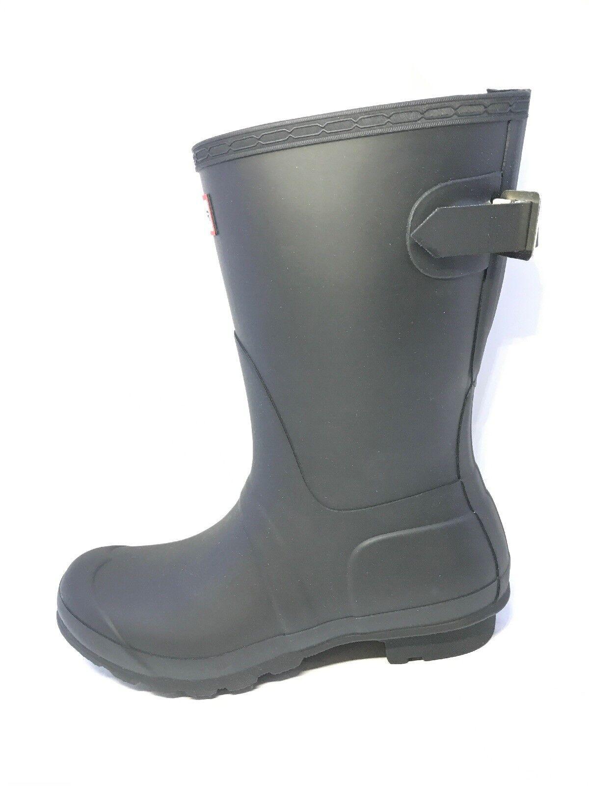 f331e73049d Para botas Wellington Ajustable Original De Corto negro Talla Trasero mujer  ntyxkb3766-Botas