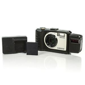 Ricoh-G800SE-Rugged-Digital-Camera-w-BR-1-Scanner-Battery-amp-AC-Adapter-NO-SD