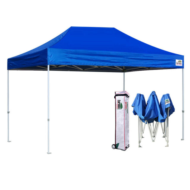 info for d855c f72b9 Eurmax Pop Up 10x15 Canopy BEYOND Commercial Patio Tent Shelter+Roller Bag