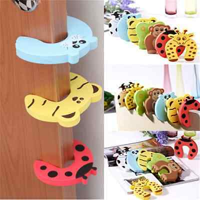 Useful 5X Guard Kid Safety Baby Finger Protector Jammers Door stopper lock Pinch