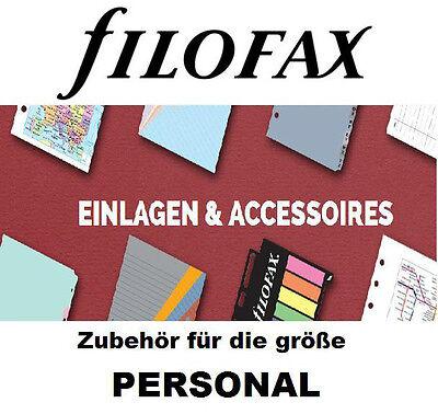 Filofax 133613 Personal Trennblatt transparent