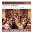 Ludwig van Beethoven: The Piano Concertos; The Violin Concerto; The Cello Sonatas (CD, Nov-2012, Sony Classical)