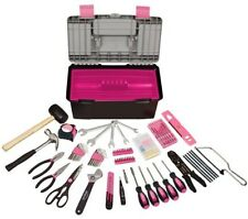Apollo 170Pc Household Tool Kit W Tool Box- Pink DT7102P Tool Kit NEW