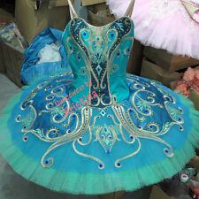 Professional Green & Teal Ballet Tutu Costume Le Corsaire Odalisque YAGP MTO