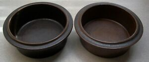 SET-OF-2-ARABIA-OF-FINLAND-RUSKA-7-1-4-inch-ROUND-VEGETABLE-SERVING-BOWLS