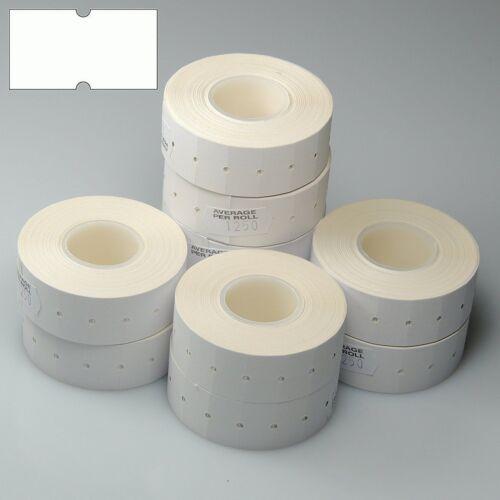 21mm x 12mm 50,000 White Peelable 22mm x 12mm CT1 Price Gun Labels