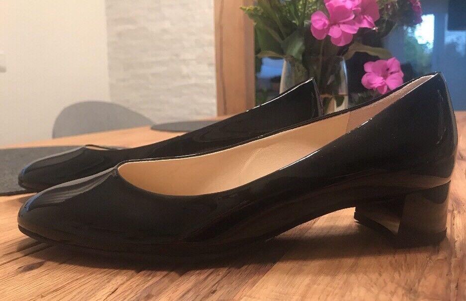 qualità autentica NUOVO    Högl PUMPS ballerina nero nero nero vernice Misura 3 1 2 (36 37)  acquista online