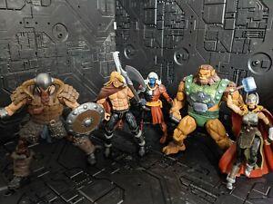 Marvel Legends SDCC 2017 Thor Battle For Asgard figure set loose