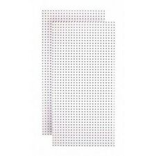 Peg Board Organizer 48 In X 24 In White Panel Painted Tempered Hardwood 2 Pack