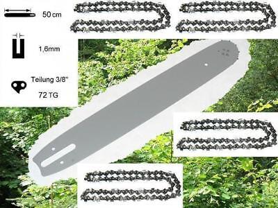 50cm Schwert Schiene 4 Ketten passend f Stihl MS391 391