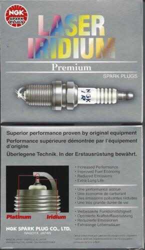 4 Spark Plugs NGK 4589 Laser Iridium OEM # IFR6TII Power Starts /& Acceleration