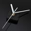 DIY White Hand Quartz Wall Clock Movement Mechanism Silent Black Motor Spindle