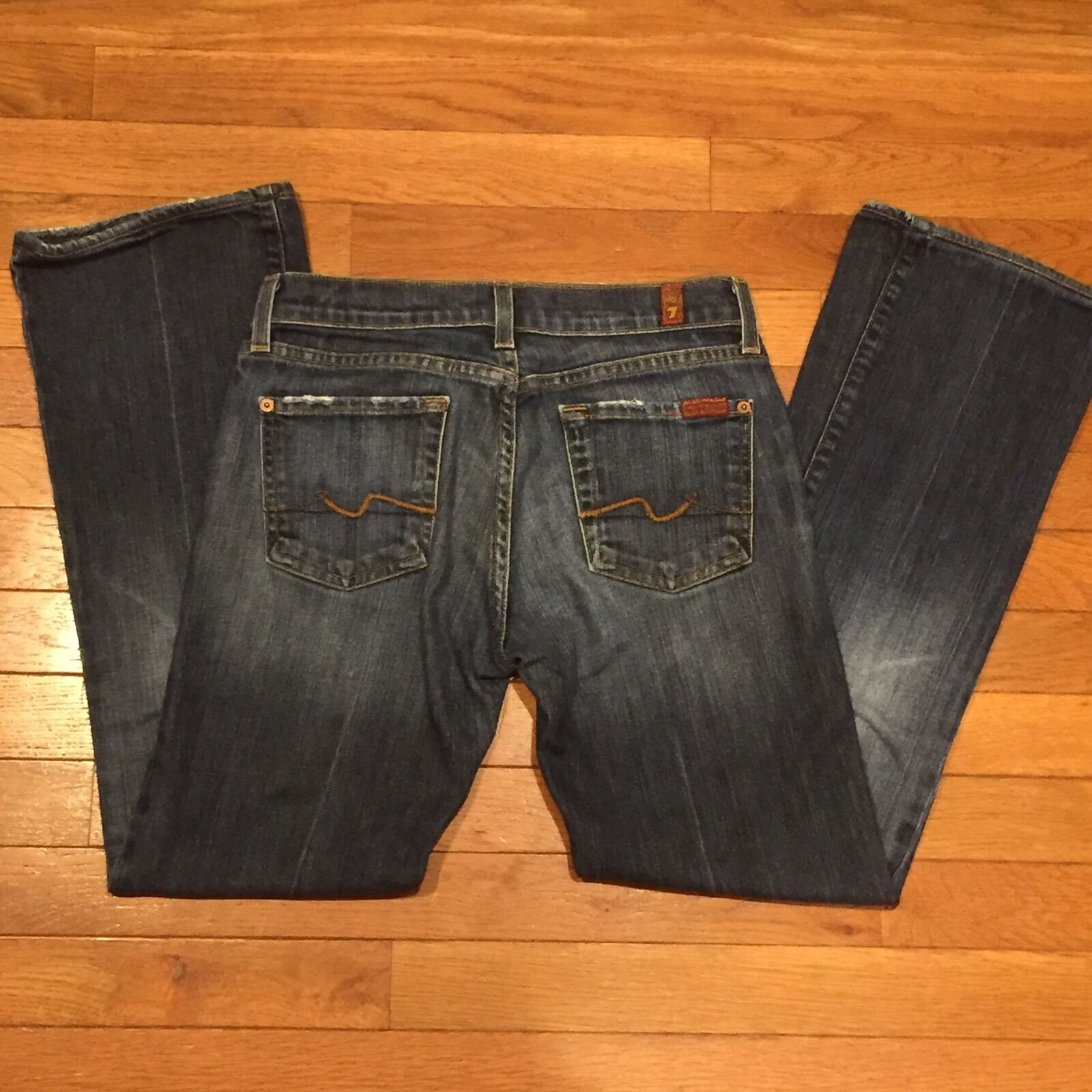 7 For All Mankind Bootcut Women's Jeans, Excellent Condition, Size 26x28