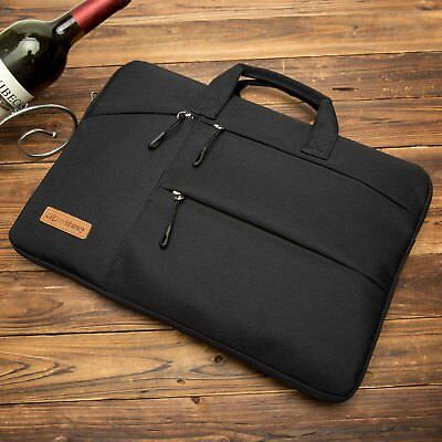 MacBook Pro 13 15 Inch 2017 //2016 Briefcase Laptop Handbag Slim Case Cover Black