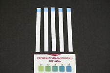 Ph Wert Teststreifen Lackmuspapier Indikatorpapier für Wein Ph von 2,8-4,4