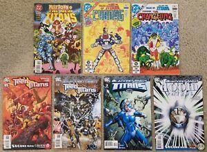 New Teen Titans Cyborg Changeling Doom Patrol Dc 7 Comic Books 1 3