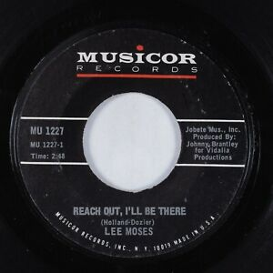 Funk 45 LEE MOSES Reach Out, I'll Be There MUSICOR HEAR
