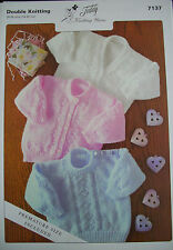 d9ce5b77c38c DK Knitting Pattern Baby Sweaters - 7137 From Teddy for sale online ...
