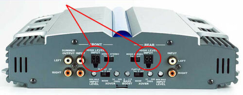 Speaker High Level Input Plug 4-Pin Harness SONY Amplfier Xplod Series XM-GS100