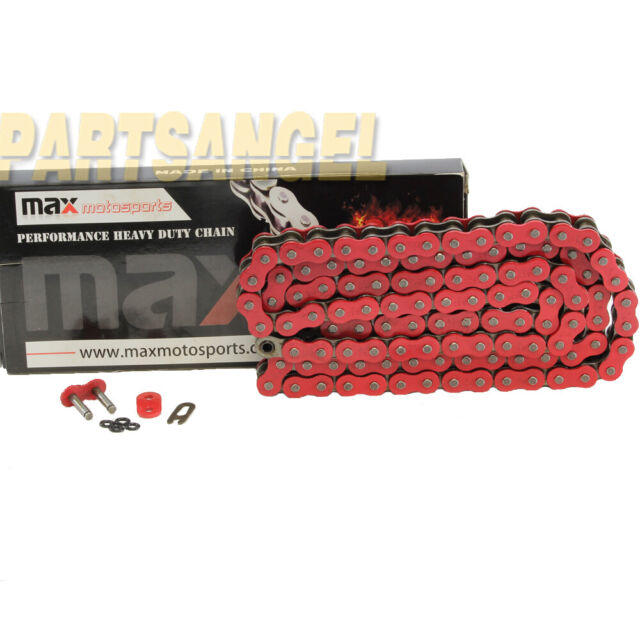 530 x 120 Links O-Ring Motorcycle Chain Red