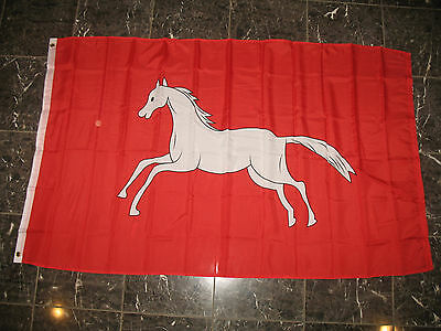 3x5 Hannover Horse Flag Rough Tex Knitted Flag 3'x5' Banner