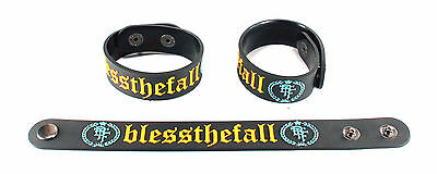 Blessthefall NEW! Rubber Bracelet Wristband Free Shipping Hollow Bodies aa159