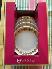 Lilly Pulitzer for Target Limited Edition Porcelain Pineapple Juicer Gold Rim
