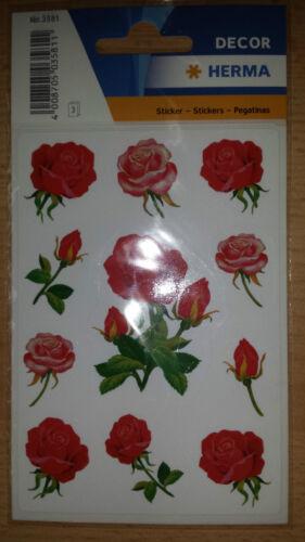 Aufkleber zum Dekorieren HERMA Sticker Rosen