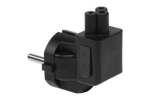 Angled Europe to C5 Plug Adapter