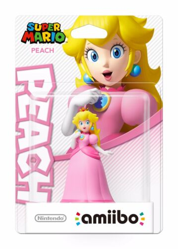 1 of 1 - amiibo Peach (Super Mario Collection) - BRAND NEW & DIRECT FROM NINTENDO AUS