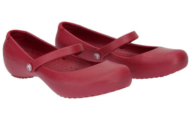Crocs BALLERINA Mod. ALICE rot