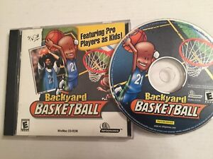 Image Is Loading Backyard Basketball Game Featuring Kevin Garnett PC MAC