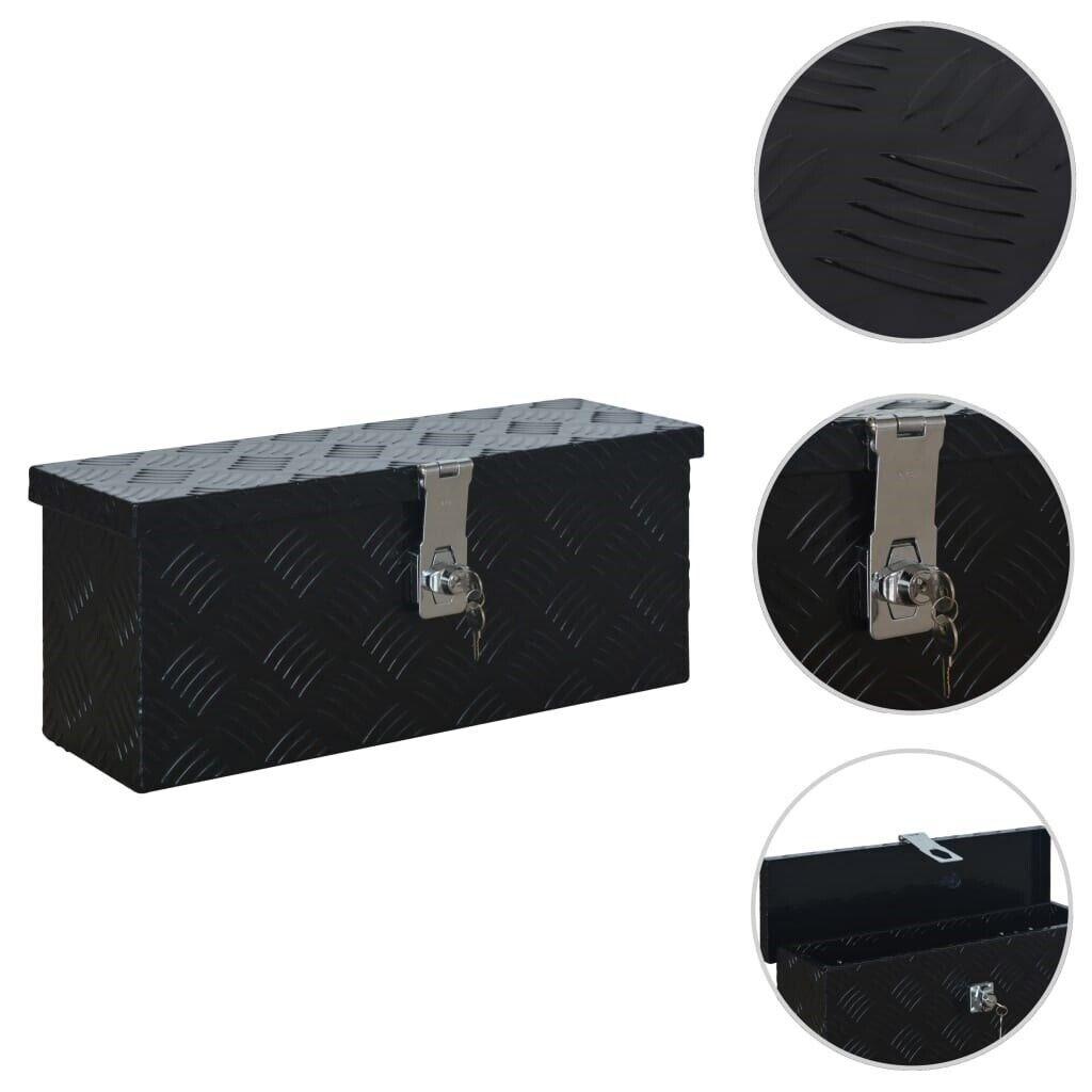 Andet håndværktøj, vidaXL aluminiumskasse 485 x 140 x 200